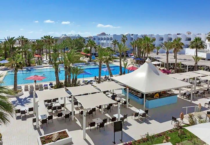 Palm beach club djerba